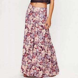 Free People pants - super wide leg palazzo floral
